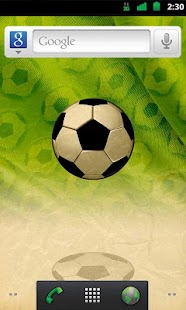 Bouncy Football Live Wallpaper - screenshot thumbnail