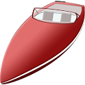 Boat games driving icon