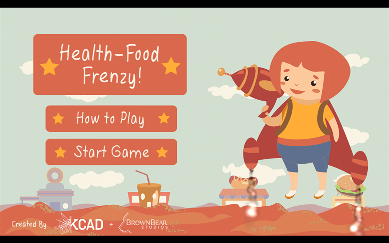 Health Food Frenzy- screenshot