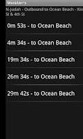 Screenshot of Muni Alerts