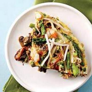 Asian-Style Shrimp Frittata