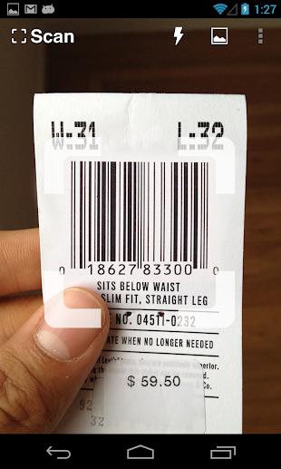 Scan - QR and Barcode Reader- screenshot thumbnail
