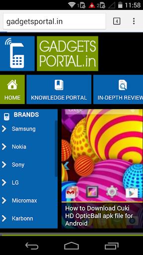 Gadgets Portal