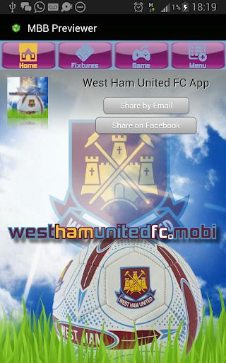 West Ham United FC Mobi