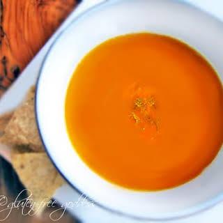 Pumpkin-Sweet Potato Soup.