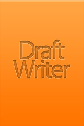 DraftWriter - Quick Notes - screenshot