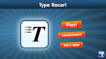 Screenshot of Type Racer - fast typing game!