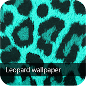 cyan leopard wallpaper ver4