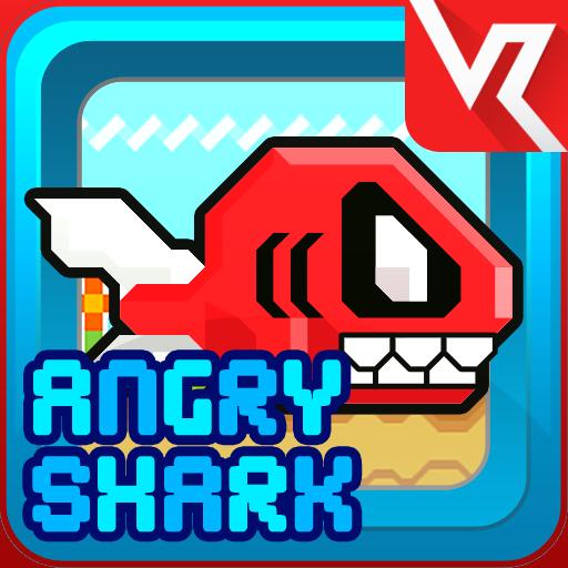 Angry Shark Saga LOGO-APP點子