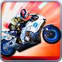 Turbo moto 3D icon