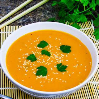 Miso Butternut Soup.