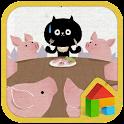 Nyan dodol launcher theme icon