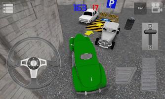 Screenshot of Classic Car Parking 3D Light