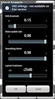 Screenshot of SEA - Speech Enhancement Lite