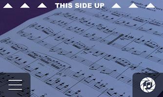 Screenshot of iSeeNotes - sheet music OCR!