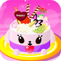 Super Delicious Cake Games icon