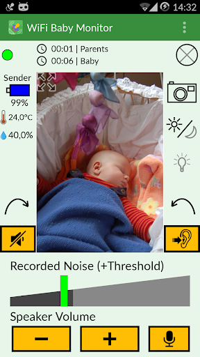 Screenshot for WiFi Baby Monitor in United States Play Store