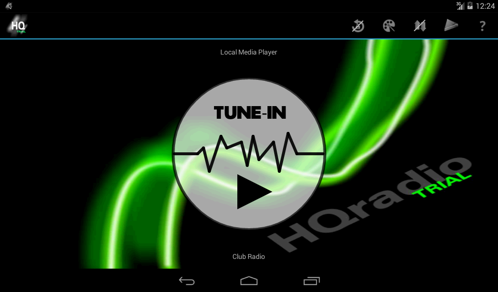 HQradio - Trial- screenshot