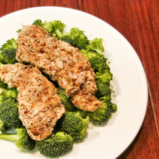 Low Carb Pecan Crusted Chicken