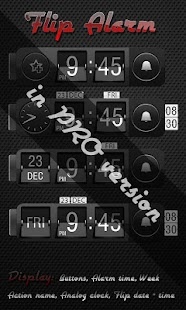 Alarm clock. widget. digital.- screenshot thumbnail