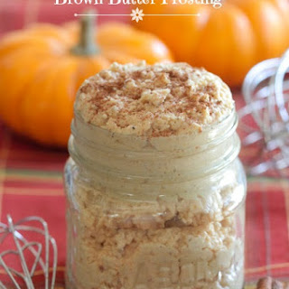 Pumpkin Spice Brown Butter Frosting.