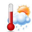 Forecast Thermometer icon