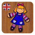 """English for kids: toys"" icon"
