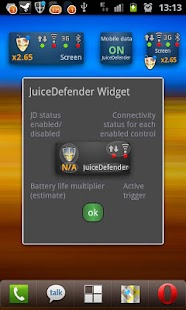 JuiceDefender - battery saver – Miniaturansicht des Screenshots