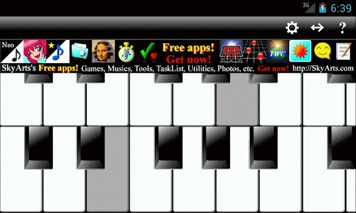 PianoTones Lite- screenshot thumbnail