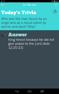 Devo Bible Quiz- screenshot thumbnail