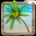 Beach Ocean HD Live Wallpaper icon