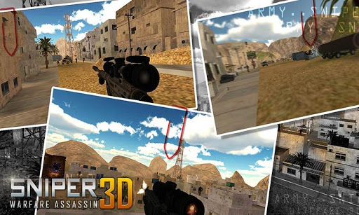 Sniper Warfare Assassin 3D  {cheat|hack|gameplay|apk mod|resources generator} 5