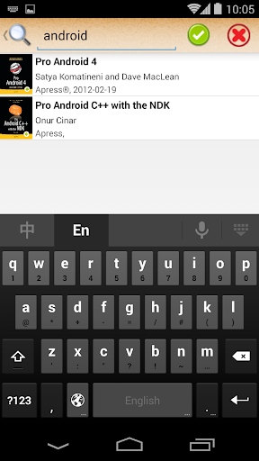 ePub Reader for Android  screenshots 2
