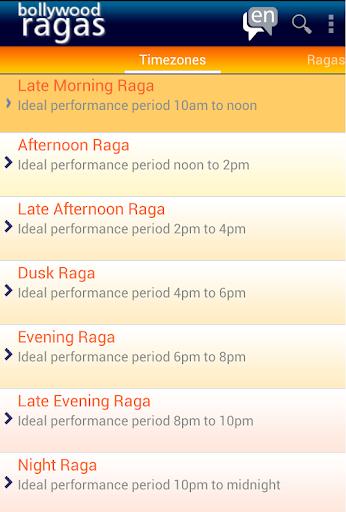 Bollywood Ragas