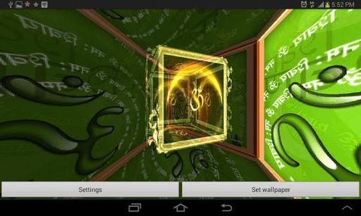3D OM Live Wallpaper 3.3 screenshots 5