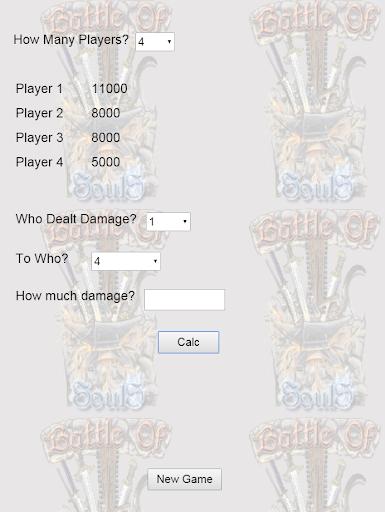 Battle Of SoulS SP Counter