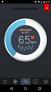 Instant Heart Rate Screenshot 1