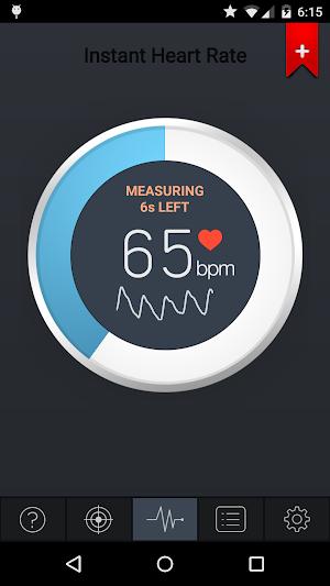 0 Instant Heart Rate App screenshot