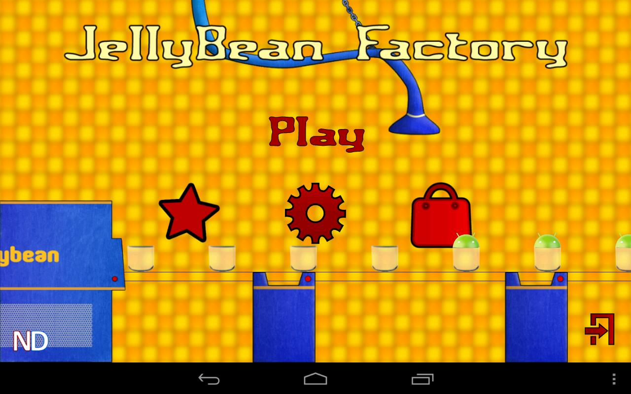 JellyBean Factory- screenshot