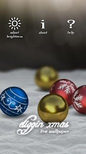 Diggin Xmas live wallpaper - screenshot thumbnail