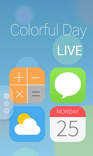 Colorful Day GO Dynamic Theme