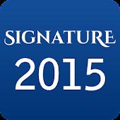 Signature  2015