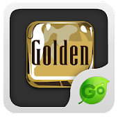 GO Keyboard Golden theme