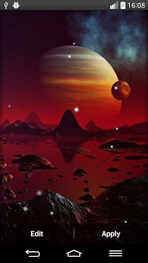 空間行星动态壁纸