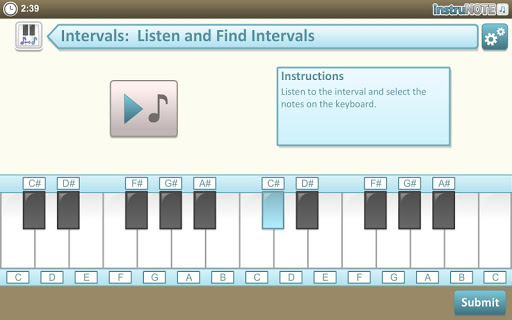 InstruNOTE Ear and Interval 1.2.1 screenshots 10