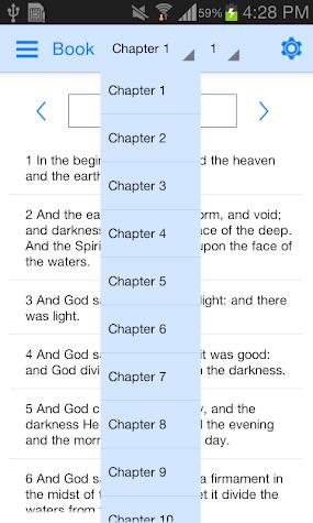Holy Bible Offline Screenshot