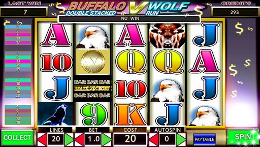 Wolf V Buffalo Run Free Slots