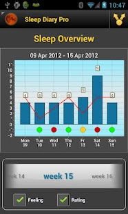 Sleep Diary Lite - screenshot thumbnail