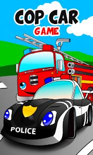cop car games for little kids screenshot thumbnail