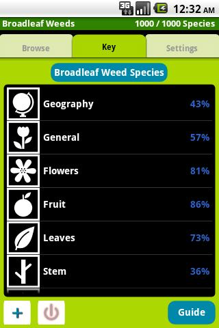 1,000 Weeds of North America - screenshot
